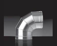 Колено Craft угол 87°, нержавеющее (316/0,5мм), ф150 - фото 6442
