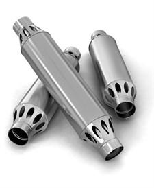 Дымоход-конвектор ТМФ РЭМБО нерж 1/0,8мм ф120мм L=1м - фото 6444