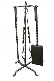 Набор для камина на стойке (3 предмета/коробка), 65см, Банный Эксперт - фото 6458