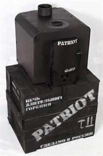 Печь отопительная PATRIOT Grill'D black - фото 6462