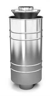 Каменка натрубная ТМФ Лейденфрост, 1/0.5мм, нерж., ф115/250мм, L=0,65м - фото 6537