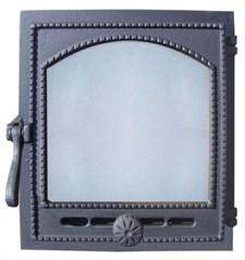 """Дверца чугунная топочная ДТГ-8АС """"Онего"""", 340*370 мм,со стеклом, Рубцовск - фото 6561"""
