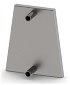 Теплообменник встроенный ТМФ для ПО Огонь-батарея - фото 6593