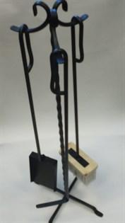 Набор для камина на стойке 3 предмета ЛОТОС Банный Эксперт - фото 6731