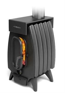 Печь отопительно-варочная ТМФ Огонь-батарея 5Б Лайт с баком дровяная антрацит - фото 6751