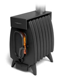Печь отопительно-варочная ТМФ Огонь-батарея 7Б Лайт с баком дровяная антрацит - фото 6753