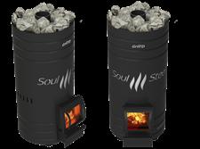 Печь для бани Grill'D Bochka 160 Soul Steel - фото 6820