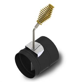Шибер ТМФ ф150 мм, 1,5мм, 08ПС прямой, антрацит, экспортный (Доцент, Герма, Яуза) - фото 6892
