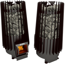 Печь для бани Grill'D Cometa Vega 180 short black - фото 6908
