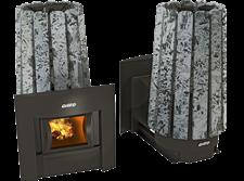 Печь для бани Grill'D Cometa 180 Vega window stone premium (Серпентинит) - фото 7010