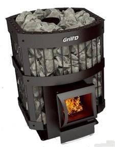 Печь для бани Grill'D Leo 130 Short black - фото 7161