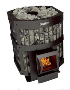 Печь для бани Grill'D Leo 130 Short grey - фото 7162
