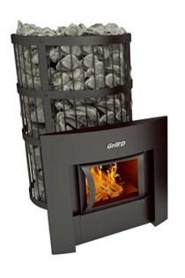 Печь для бани Grill'D Leo 300 window grey - фото 7163