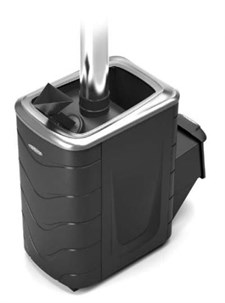 Печь для бани ТМФ Гейзер 2014 Carbon нерж.дверца закр.каменка антрацит - фото 7179