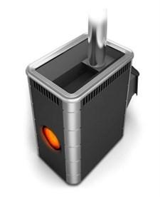 Печь для бани ТМФ Аврора Inox дверца антрацит иллюминатор антрацит нерж.вставки - фото 7181