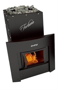 Печь для бани Grill'D Fortuna 280 window black - фото 7183