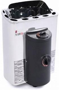 Печь для бани электрическая Sawo Mini X MX-36NB-Z встроенный пульт 3,6 кВт - фото 7208