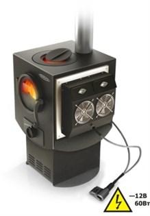 Печь отопительная электрогенерирующая ТМФ Индигирка-2 с ТЭГ 30-12V-М - фото 7230