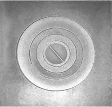 Плита чугунная П-1-5 одноконфорочная большая, 512*512 мм, Рубцовск - фото 7236