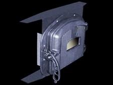 Панель чугунная печная с дверцей EZ 1C - фото 7244