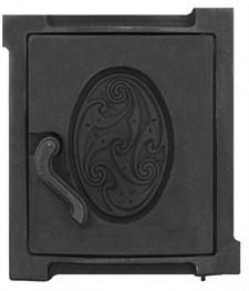 Дверца чугунная топочная уплотненная ДТУ-4А, 300*342 мм, Рубцовск*** - фото 7246