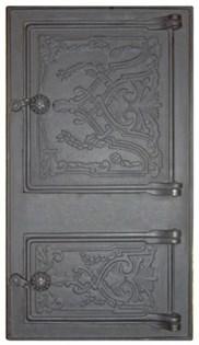 Портал чугунный каминный крашеный ПДТ-4.1 490х250 мм, Рубцовск - фото 7252