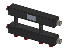 Каскадный узел горизонтальный до 3х котлов ZOTA - фото 7300