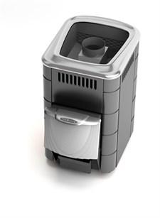 Печь для бани ТМФ Компакт 2013 Inox нерж.дверца короткий топливный канал антрацит - фото 7524