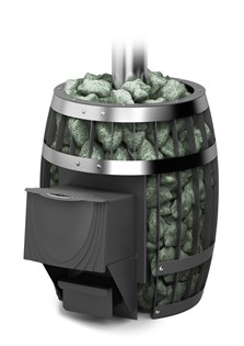 Печь для бани ТМФ Саяны Carbon дверца антрацит - фото 7908