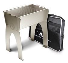 Мангал ТМФ МирТрудМай-2, высокий, разборный, решетка-гриль, с сумкой - фото 8066