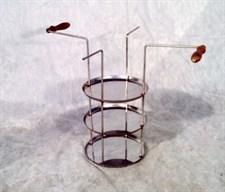 Тарелка для тандыра трехъярусная - фото 8115