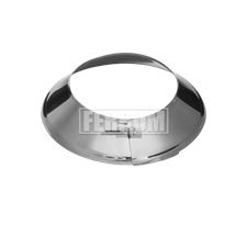 Юбка Феррум  (430/0,5 мм) нержавеющая, для крышной разделки, ф115 - фото 8178