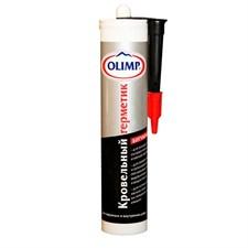 Герметик Олимп битумный кровельный черный, 290 мл - фото 8236
