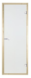 HARVIA Двери стеклянные 9/19 коробка осина, прозрачная D91904H - фото 8927