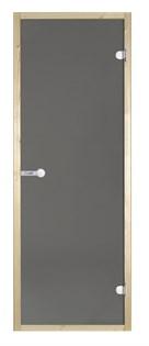 HARVIA Двери стеклянные 8/21 коробка ольха, серая D82102L - фото 8938