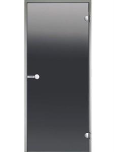 HARVIA Двери стеклянные 9/21 коробка алюминий, стекло серое, арт. DA92102 - фото 8954