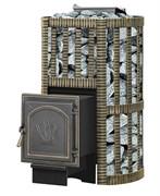 Печь для бани Везувий Ураган Ковка 28 (271) закр каменка дровяная