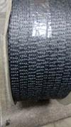 Шнур уплотнительный из керамического волокна самоклеящийся, 8*2 мм, 1 метр