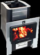 Печь для бани Конвектика Inox 16 Плазма антрацит