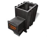 Печь для бани AGNI С легким паром! 12-18 куб.м длинный топл канал антрацит