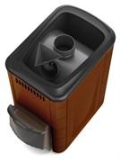 Печь для бани ТМФ Ангара 2012 Inox дверца антрацит короткий топл. канал терракота