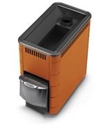 Печь для бани ТМФ Тунгуска XXL 2013 Inox дверца антрацит короткий топливный канал терракота