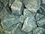 Камень для бани Жадеит колотый, 10 кг, средний, коробка, ЗЖ