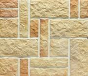 """Плитка """"Терракот"""", 1 сорт, прямая, Рваный камень ХАОС  (0,6 м2), разноцвет"""