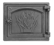 Дверца Везувий чугунная печная, (ДТ-3), 250*290 мм, антрацит