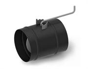 Шибер ТМФ ф150 мм, 1,5мм, 08ПС прямой, антрацит (Доцент, Герма, Яуза)