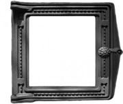 Дверца чугунная топочная ДТ-4С, 291*296 мм, со стеклом, Рубцовск