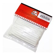Шнур уплотнительный из керамического волокна, 6мм, L=2м, белый, FireWay