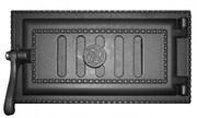 Дверца чугунная поддувальная ДПУ-3 340*190*111 мм, уплотненная, Рубцовск