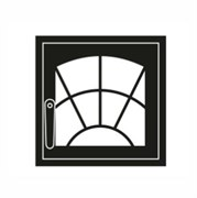 Дверца каминная ГрейВари Арка М 460х442 мм